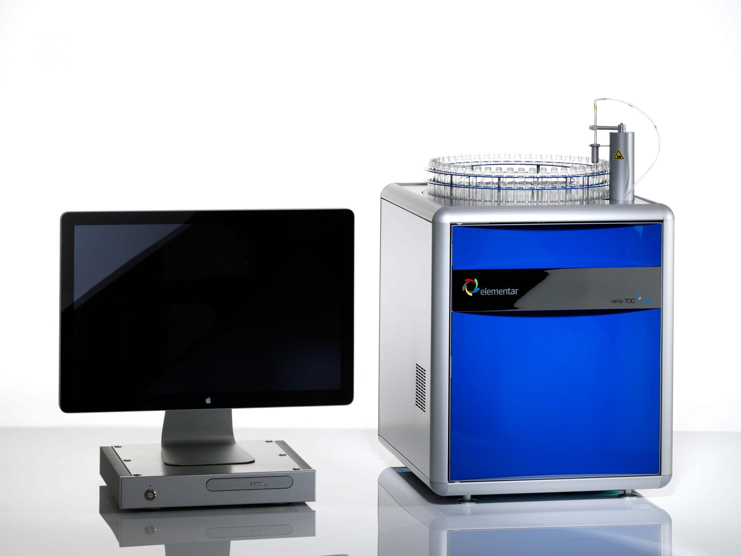 Analizador de Carbono Orgánico Total (TOC) VARIO TOC CUBE Image