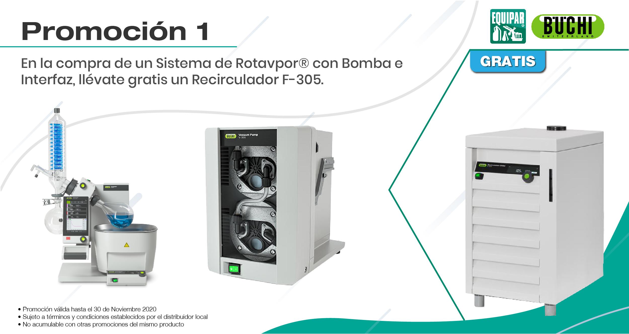 Sistema de Rotavapor con Bomba e Interfaz Image