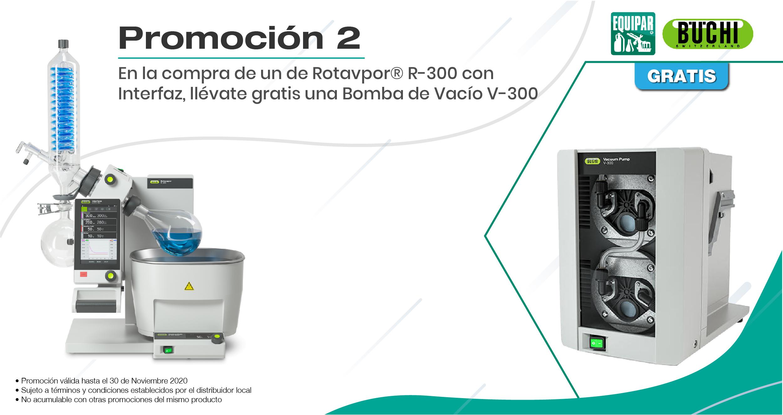 Rotavapor R-300 con Interfaz Image
