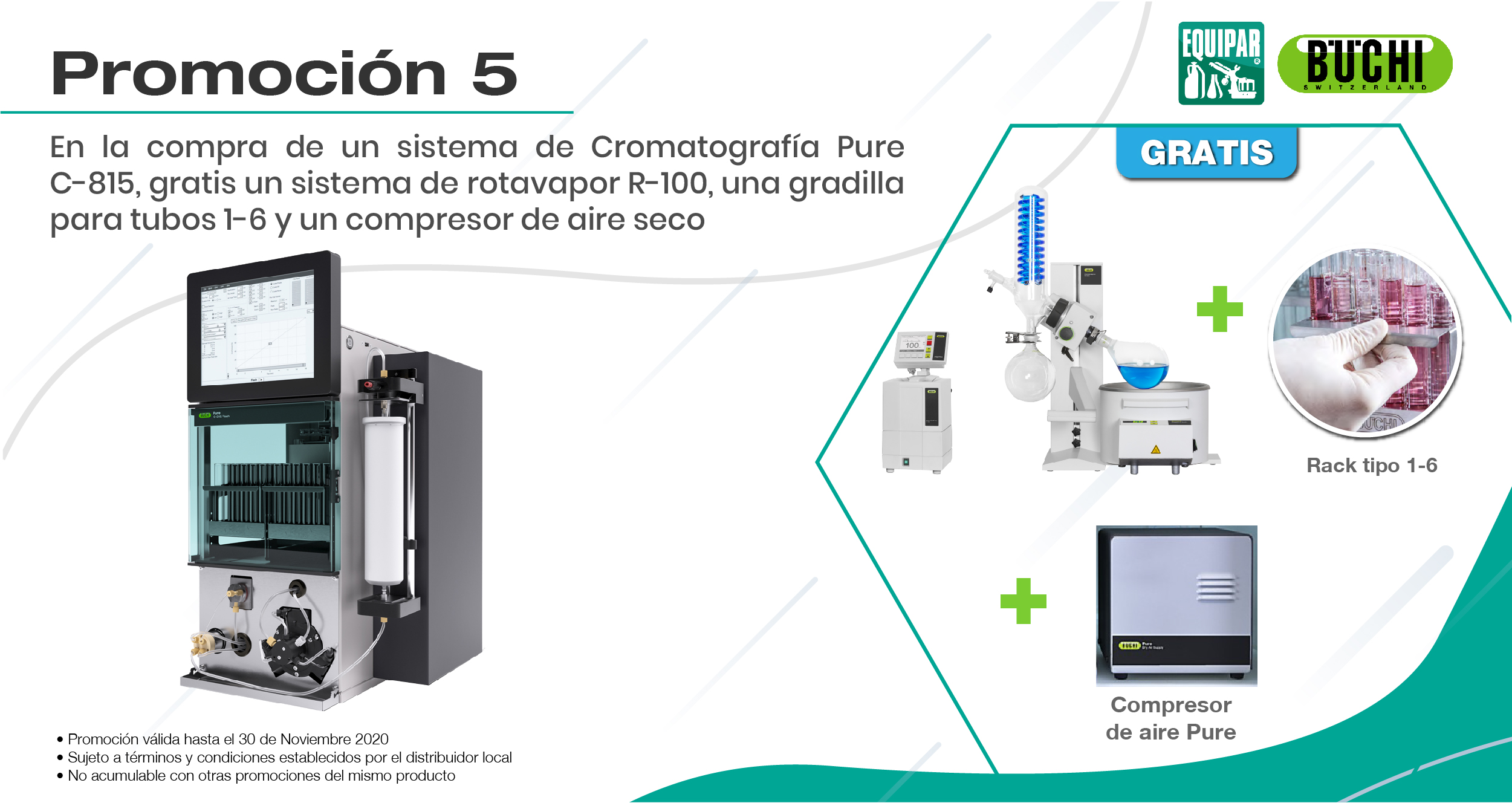 Cromatógrafo Pure C-815 Image