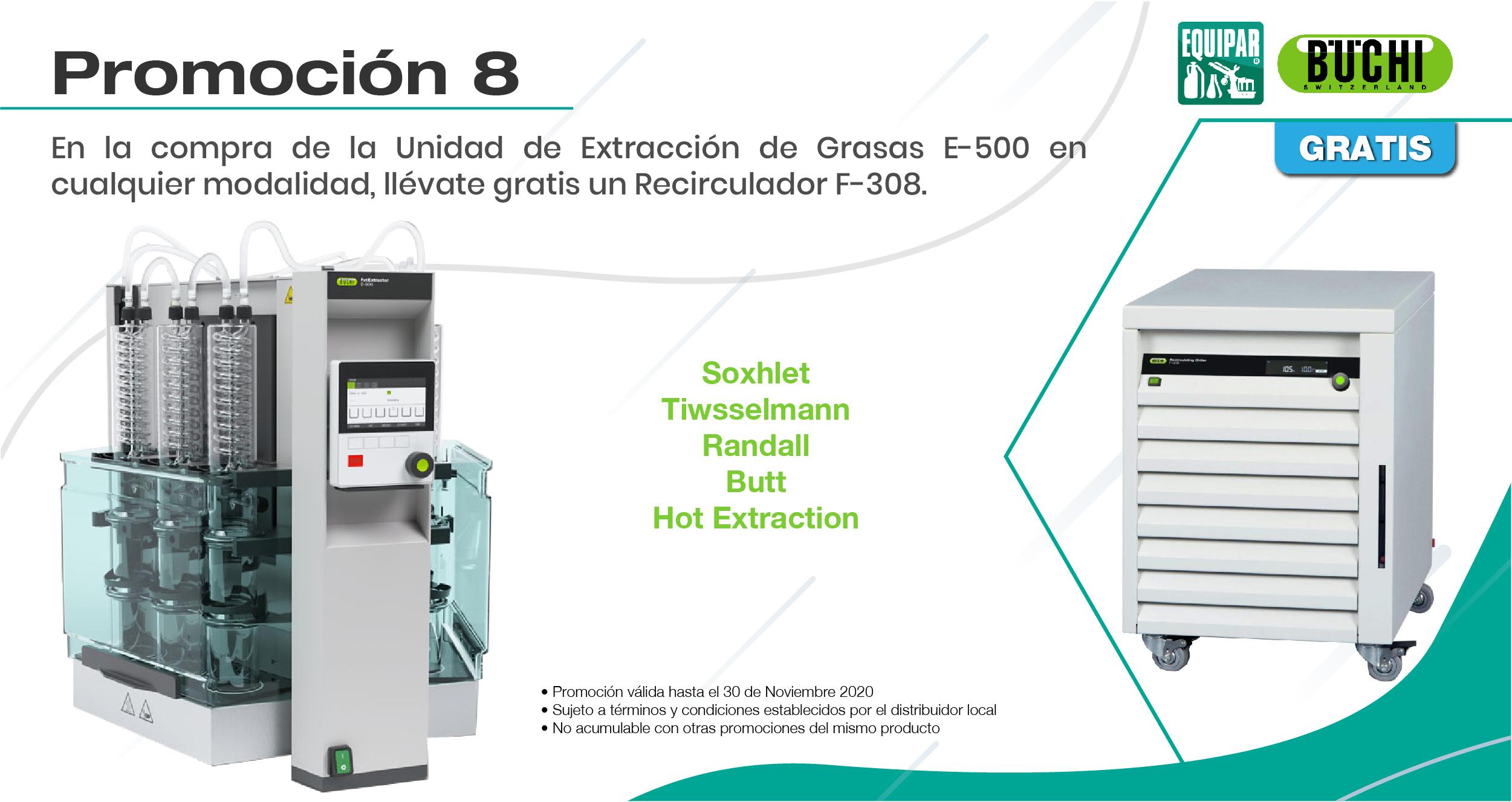 Unidad de Extracción de Grasas E-500 I Image