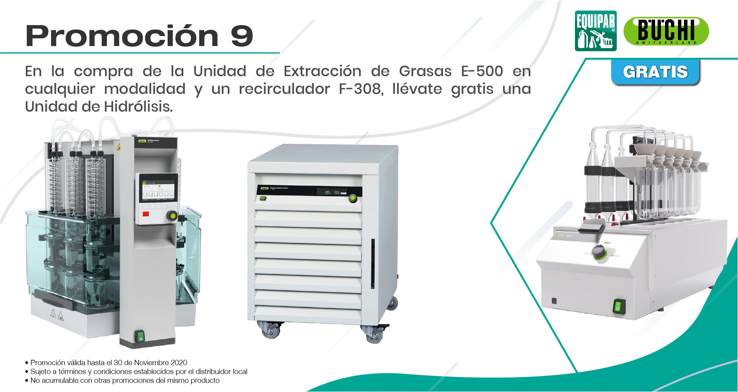Unidad de Extracción de Grasas E-500 II Image