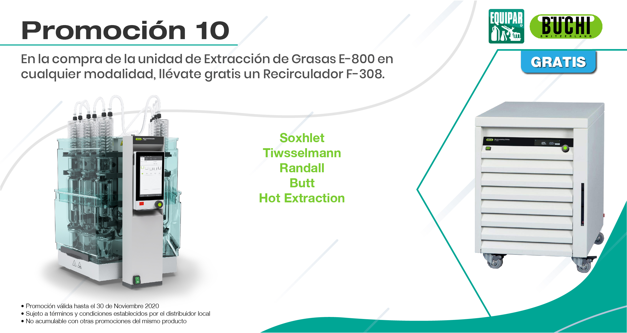 Unidad de Extracción de Grasas E-800 Image